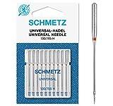 SCHMETZ Nähmaschinennadeln 130/705 H | 10 Universal-Nadeln | Nadeldicke: 80/12