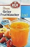 RUF Gelier Fruchtzucker, 4er Pack (4 x 500 g)