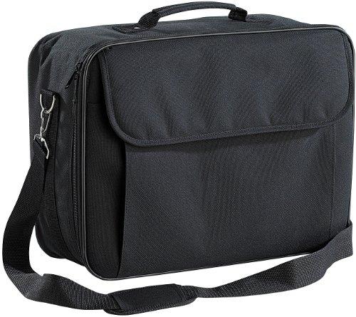 Xcase Beamertasche: Gepolsterte Beamer-Tasche Universal mit Innenteiler, Größe L (Aufbewahrungstaschen für Beamer)