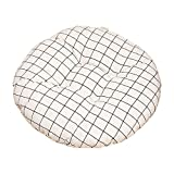 Fansi Bequemes Rund Stuhlkissen für Büro Sofakissen Futonmatte im böhmischen Stil Klassisch Sitzauflage für Bank und Stuhl mit Ecken Weich gepolstert 40 * 40cm