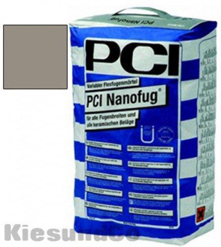 PCI NANOFUG ZEMENTGRAU 4 kg Beutel Flexfugenmörtel Fugenmörtel - Für alle Fugenbreiten für innen, außen, Boden und Wand