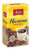 Melitta Gemahlener Röstkaffee, Filterkaffee, entkoffeiniert, vollmundig, milder Röstgrad, Harmonie Entkoffeiniert, 12 x 500 g