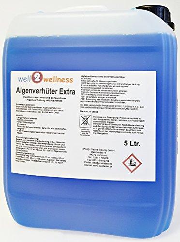 Pool Algenverhüter + Algenvernichter Extra 'BLUE' 5,0 l - hochkonzentriert + schaumfrei