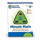 Learning Resources Minute Math Elektronisches MatheSpiel,
