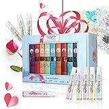 Luckyfine Parfum Set, Parfum Spray 9 Flaschen Stadt Parfüm Miniaturen Set, geeignet für Persönlicher Gebrauch und Muttertag,Valentinstag, Geburtstag, Jahrestag Tag usw. Geschenke