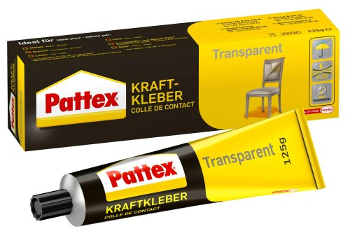 Pattex PXT2C Kraftkleber 125 g, transparent