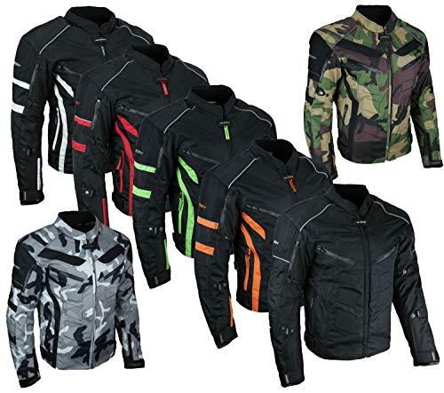 HEYBERRY Motorrad Jacke Motorradjacke Camouflage Urban Gr. M