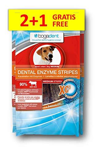 Bogadent Dental Enzyme Stripes Medium, 1er Pack (1 x 300 g)