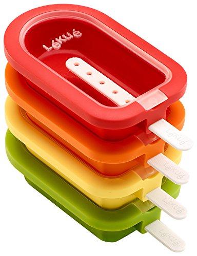 Lékué Lékué– Eisform, stapelbar, Mini, 10,5cm, 4-teilig