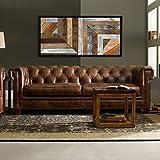 Reclaimed Wood Art A 300, Holz-Wand-Kunst | Zurückgefordert Holz | Holzkunst | Rustikale | Geometrische | Holz-Dekor | Wand-Dekor | Moderne
