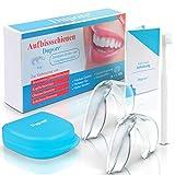 Dupore  Aufbissschienen Set (2 Stk) - Für ein Leben ohne Zähneknirschen - Zertifizierte Zahnschienen + GRATIS EBOOK, Aufbewahrungsbox und Zahnbürste + Zufriedenheitsgarantie