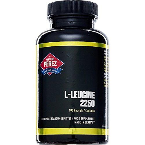 L-Leucin - 2250 mg pro Dosis - 100 Kapseln - essenzielle Aminosäure