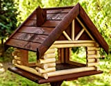 Vogelhaus Vogelhäuschen Futterhaus holz Vogelfutterhaus Vogelfutterspender aus Vogel nisthaus Vogelfutterstation Futterspender 1 Ständer Meisenkasten x Vogelnistkasten Haus