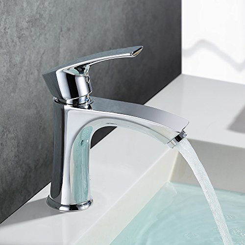 Homelody Wasserhahn Waschbecken Armatur Waschtischarmatur Bad Badarmatur Einhandmischer Waschtisch Armaturen Mischbatterie f. Badezimmer