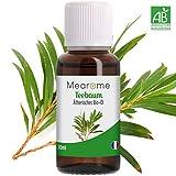 Teebaumöl BIO - 100% naturreines ätherisches Öl für reine Haut gegen Pickel, Mitesser, Akne