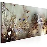 murando - Bilder Pusteblume 120x40 cm - Vlies Leinwandbild - 1 Teilig - Kunstdruck - modern - Wandbilder XXL - Wanddekoration - Design - Wand Bild - Blumen Natur grau Pusteblumen b-C-0169-b-c