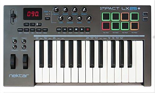 Nektar Impact LX 25+   USB-MIDI-Studio-Controller   LX-25 Plus   NEU