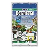 JBL Bodengrund Weiß für Süßwasser Aquarien, Sansibar White 10 kg, 67056