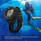 KINJOHI Tauchen Kompass Tauchen am Handgelenk Wassersport Schnorcheln Navigationsanzeige