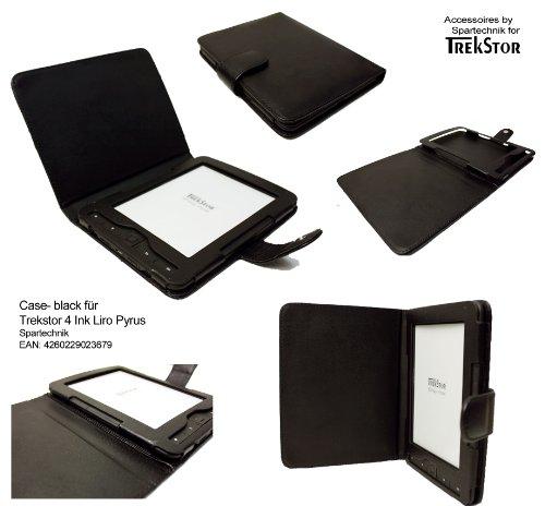 Tasche für Trekstor 4 Ink 4ink 4.0 Hugendubel Bertelsmann Weltbild Trekstor Liro Ink TrekStor PYRUS E-Book Reader - bestes Case für Trekstor 4 - schwarz