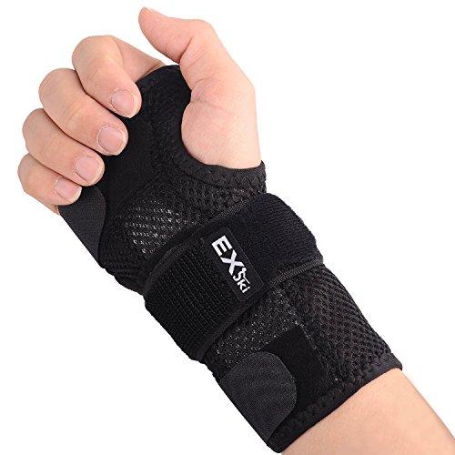 EXski Handgelenk Schienen Bandage Handbandage Links Rechts Karpaltunnelsyndrom Verstärkte Kompression Arthritis Verstauchung