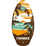 Slidz Skimboard Itaparica Skimboard, Orange/Türkis, 41'