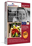 Spanisch (Südamerika)-Basiskurs mit Langzeitgedächtnis-Lernmethode von Sprachenlernen24: Lernstufen A1 + A2. Sprachkurs für Anfänger. PC CD-ROM für Windows 10,8,7,Vista,XP / Linux / Mac OS X