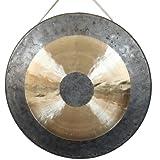 Original Tam Tam Gong / Whood Chau Gong 50 cm, toller Klang, inklusiv Holz-/Baumwollklöppel -7021-