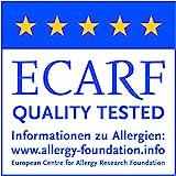 TAURO 24536 Matratzen-Bezug gegen Milben | Anti-Allergie Matratzenschoner | Bettbezug bei Hausstauballergie | Höhe 16 cm | 90 x 200 cm
