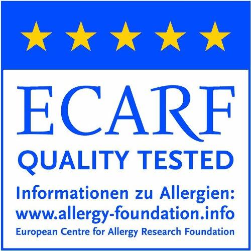 TAURO 24536 Matratzen-Bezug gegen Milben   Anti-Allergie Matratzenschoner   Bettbezug bei Hausstauballergie   Höhe 16 cm   90 x 200 cm