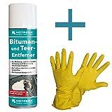 HOTREGA - Bitumen- und Teer- Entferner 300 ml SET + NITRAS Handschuhe Gr. 10