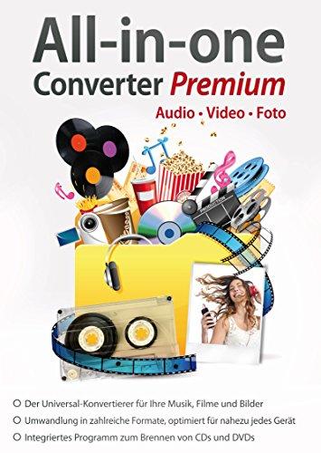 All in One Converter Premium - Video - Audio - Foto - Umwandlung, Bearbeitung, Konvertierung für Windows 10 / 8.1 / 7