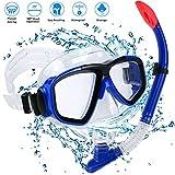 Schnorchel Set Erwachsene Schnorchelset Tauchset Taucherbrille mit Schnorchel für Herren und Damen Tauchen Schnorcheln (Style 2)