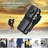 jezmiSy, Auto-DVR, Fahren-Recorder, Kabellos, Antenne, Digitalkamera, Videoclip auf Cam Pocket Camcorder - Schwarz