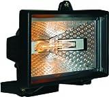 Smartwares Halogenstrahler 120 W, Metall, schwarz, 11 x 14.6 x 13.9 cm, 10.036.76 (HL120)