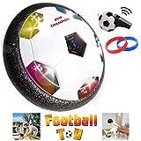 Maxxrace 2018 Fußball Spiel Kinder Spielzeug die erstaunliche Hover Ball Kinder Sport Spielzeug Training Fußball für Indoor oder Outdoor mit Eltern Spiel Bonus Pfeife und Armband