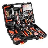 Werkzeugkasten, OUTAD Werkzeugkoffer 42-teiliger Premium Universal- und Haushalts-Werkzeugkoffer (Schlagwerkzeug,Schraubendrehersatz,Zangensatz,Bandmass,Schrauben,ect)
