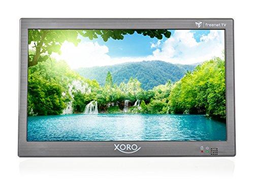 Xoro PTL 1050 25,6 cm (10.1 Zoll) Tragbarer DVB-T/T2 Fernseher inkl. 6 Monate freenet TV Guthaben