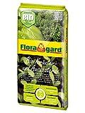 Floragard Bio Kräuter- und Aussaaterde 5 L • torfreduzierte Bio-Spezialerde • zum Aussäen, Stecken und Pikieren • für alle Kräuterarten • mit Perlite und Kompost