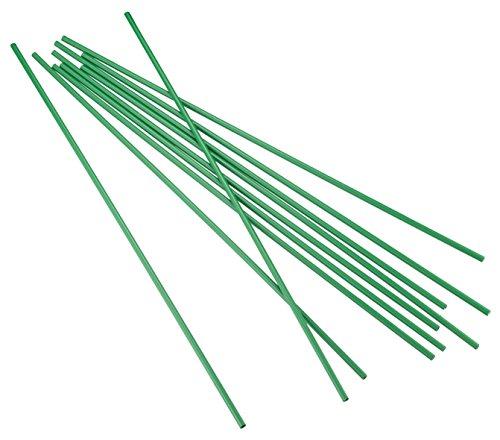 Connex Rankstäbe 5 mm x 500 mm 10 Stück / Pflanzstäbe / Rankhilfe / Blumenstab / Rankstange / FLOR78805