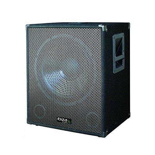 Ibiza aktiver PA Subwoofer Bi-Amp (38 cm (15 Zoll), 800 Watt)