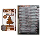 1 Palette Rindenmulch mit 57 Sack je 40 Liter = 2280 Liter