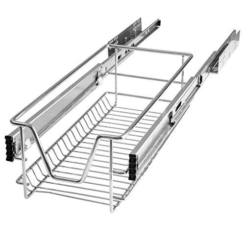 TecTake Teleskopschublade Küchenschublade Schlafzimmerschublade - diverse Größen -