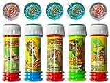 diverse 36 x Seifenblasen mit Geduldspiel 60 ml Bursting Bubbles Dino Party Tombola