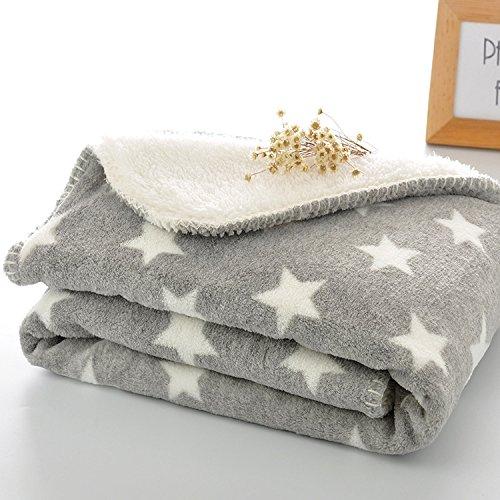 PRIMA Hundedecke doppeilseitige Schlafdecke maschinenwaschbar Katzendecke für Sofa und Hundebett 75*100cm 100*150cm