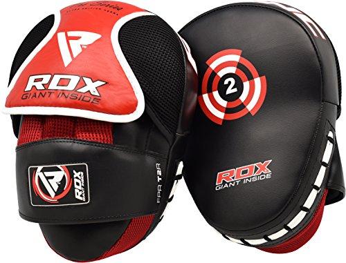 RDX Boxen Pads Handpratzen Boxpads Schlagpolster Kickboxen Kampfsport Schlagkissen