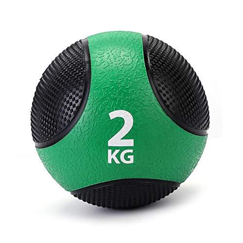 ZELUS Medizinball Slamball 2kg bis 8kg robuste strukturierte Oberfläche Trainingsball Fitnessball Gewichtsball Gymnastikball Krafttraining Ausdauertraining
