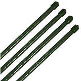 10 Stück Pflanzstäbe Pflanzstab Pflanzenstab grün in verschiedenen Größen (Ø 11 x 900 mm)