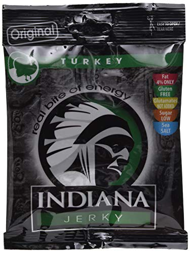 Indiana Jerky Turkey Original, 10er Pack (10 x 25 g)