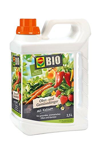 COMPO BIO Obst- und Gemüsedünger, 2,5 Liter